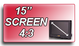 15 inch high definition screen